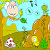 لعبة تلوين حيونات الغابة
