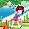 لاعبة التنس